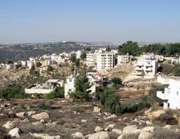 הכפר אל-ולג'ה. צילום: אייל הראובני, בצלם, 5.11.10.