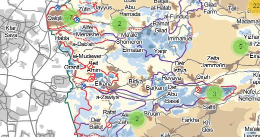 Maps   B\'Tselem