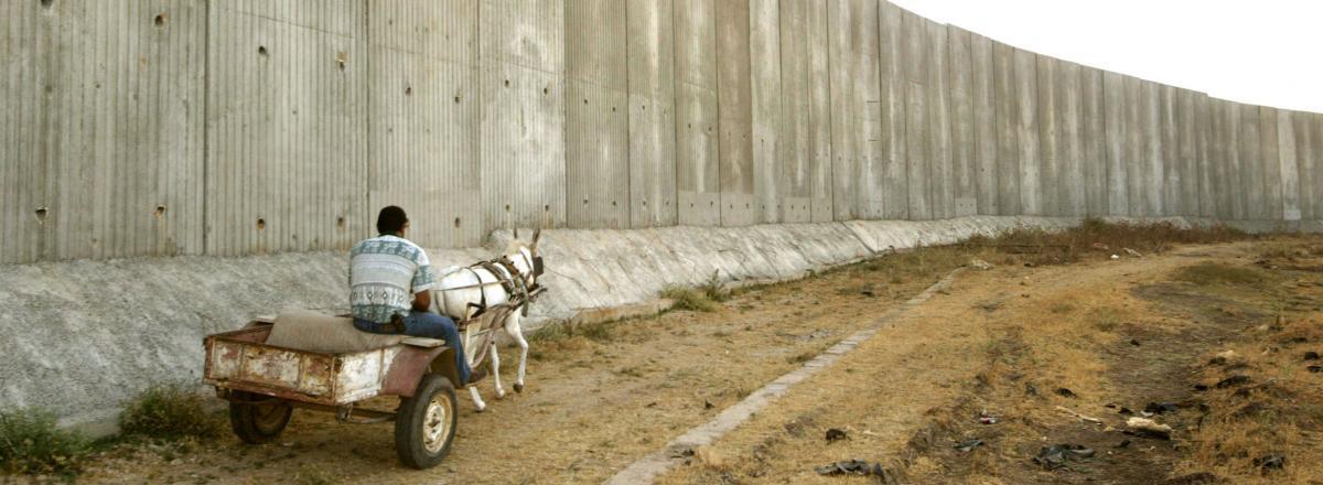 Apartheid wall gaza strip