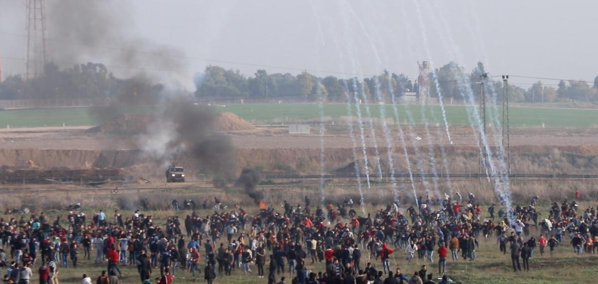 Négy palesztin meghalt egy robbanásban a Gázai övezetben