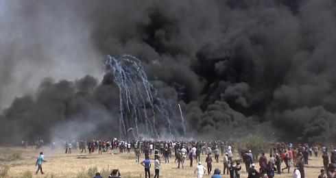 cons pros Gaza strip