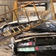 <p>[10488]  עופרת יצוקה: מטוסי חיל האויר הפציצו משאית שנשאה בלוני חמצן ומסגריה בעיר עזה, 9 אנשים נהרגו, 29.12.08</p><p>תצלום: מוחמד סבאח, בצלם</p>