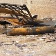 <p>[10487]  عملية الرصاص المصبوب: طائرات سلاح الجو قصفت شاحنة تحمل بالونات غاز ومحددة في مدينة غزة، مقتل 9 أشخاص، 29.12.08 </p><p>تصوير: محمد صباح, بتسيلم</p>
