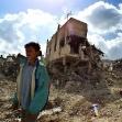 "<p>[1324] 19.4.0 נער פלסטיני בהריסות שנותרו במחנה הפליטים ג'נין, מיד עם סיום מבצע ""חומת מגן"".</p><p>תצלום: גוראן טומסביץ', רויטרס</p>"