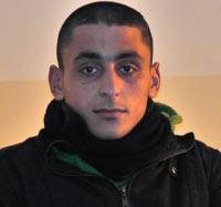Akram Hanatsheh. Photo: Musa Abu Hashhash, 12 Feb. 2012