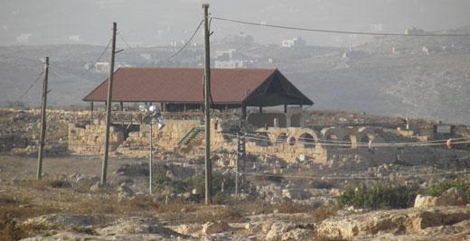Ancient village of Susiya, South Hebron Hills, 17 November 2010. Photo: Yoav Gross, B'Tselem.