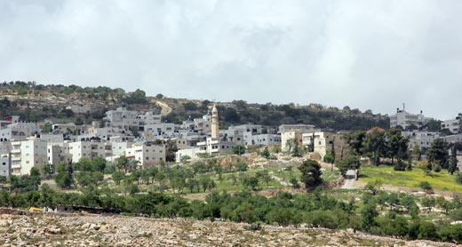 View of Burqah. Photo: B'Tselem, 30.3.14
