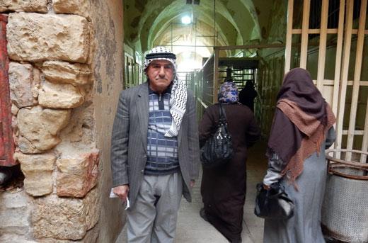 Ishaq Qafishah. Taken by Musa Abu Hashhash, B'Tselem