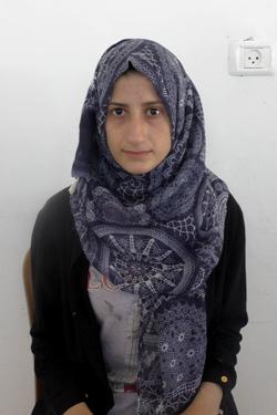 Hanin al-Wahsh. Photo: Manal a-Ja'bri, B'Tselem, 29 June 2017