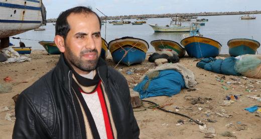 Ahmad Abu Hamadah. Photo by Muhammad Sabah, B'Tselem, 27 Jan. 2017