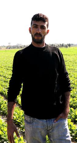 Riyad Abu Samur. Photo by Khaled al-'Azayzeh, B'Tselem, 4 Feb. 2017