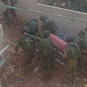 חיילים מחרימים ציוד בקובר. 24.7.17