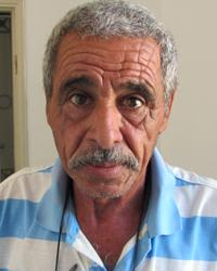 Fathi Ahmad. Photo by Abdulkarim Sadi, B'Tselem, 28 Sept 2017
