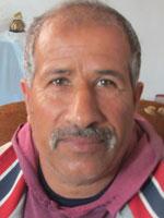 Riad Salim Muhammd a-Niser. Photo: Khaled al-'Azayzeh, B'Tslem