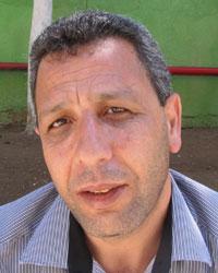 Talal a-Sayed. Photo: 'Amer 'Aruri, B'Tselem, 25 Aug. 2012