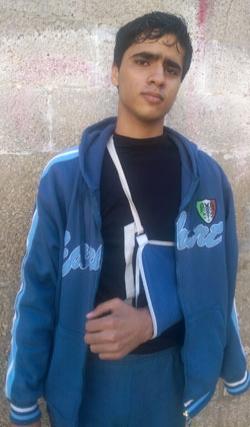 Faruq al-Hams. Photo by Muhammad Sabah, B'Tselem